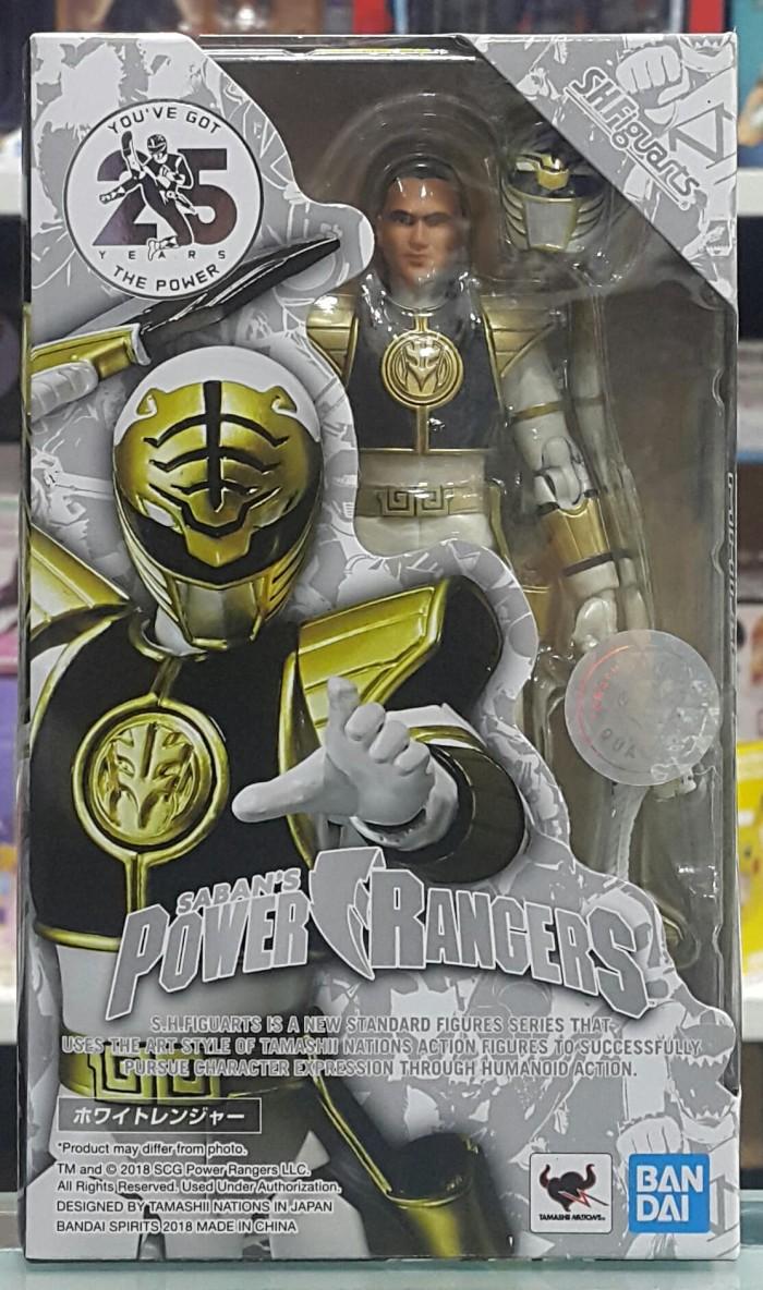 Jual SHF Power Rangers White Ranger Jakarta Barat Hobby Japan