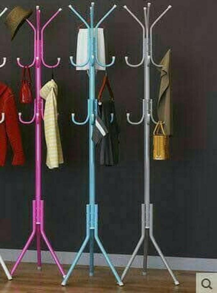 Standing Hanger Multifungsi /gantungan tas baju portable |
