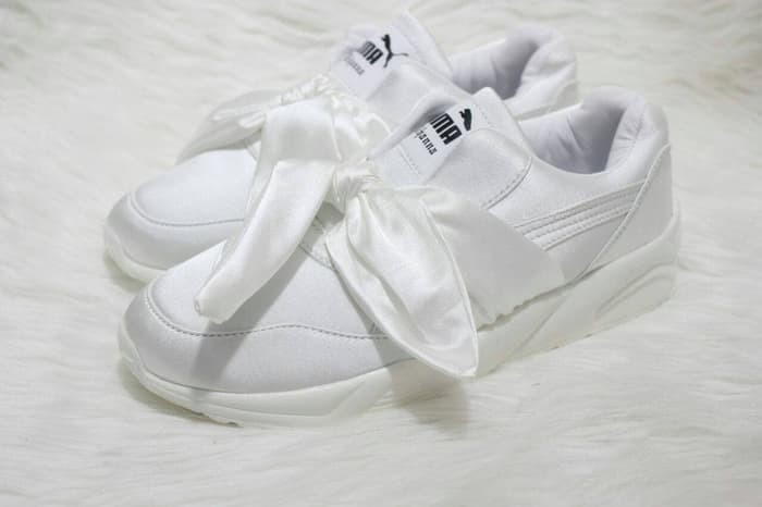 low priced 1bac5 38650 Jual PUMA FENTY RIHANNA BOW WHITE - Import Quality - Kab. Sleman - Stasiun  Fashion | Tokopedia