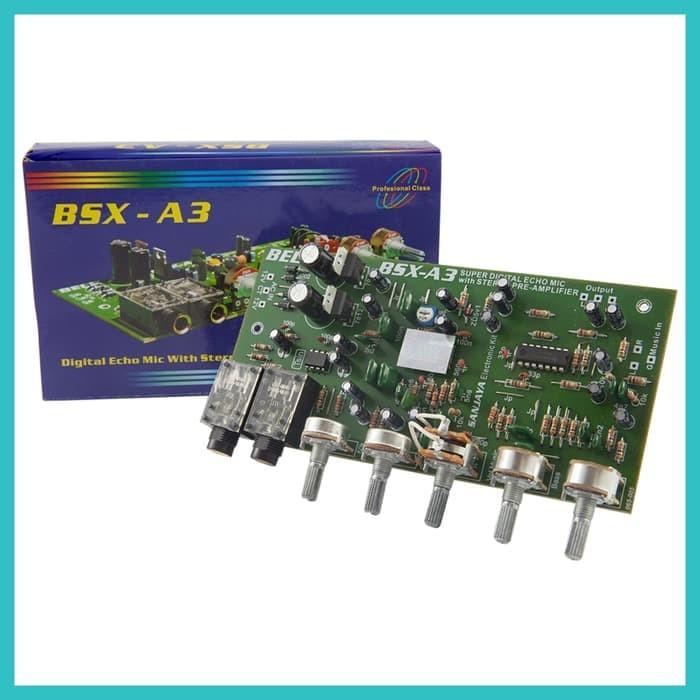 Jual Kit Bell Pre Amp Mic Echo + Tone Control BSX-A3 - Kab  Blora - Alya  Audio Elektronik | Tokopedia
