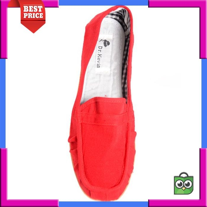 Dr Kevin Women Flats Shoes 5306 Red