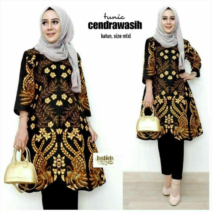 Jual Tunik Batik Wanita Baju Batik Tunik Terbaru Kota Yogyakarta Rumah Batik Frz Tokopedia