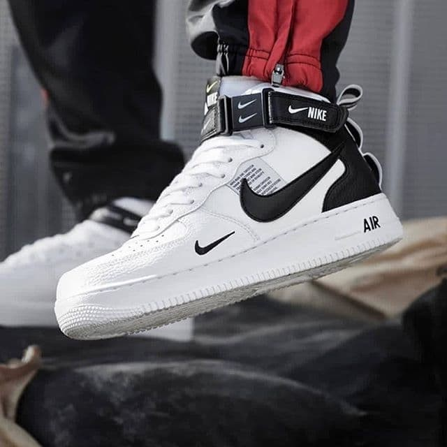 buy popular 3d55c 83d1c Jual Nike Air Force 1 Mid 07 Lv8 Utility White Premium Original - Jakarta  Barat - A & D Shoes Shop | Tokopedia