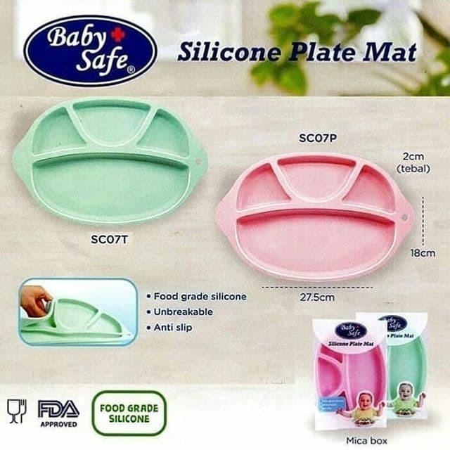 Info Baby Silicon Plate Travelbon.com