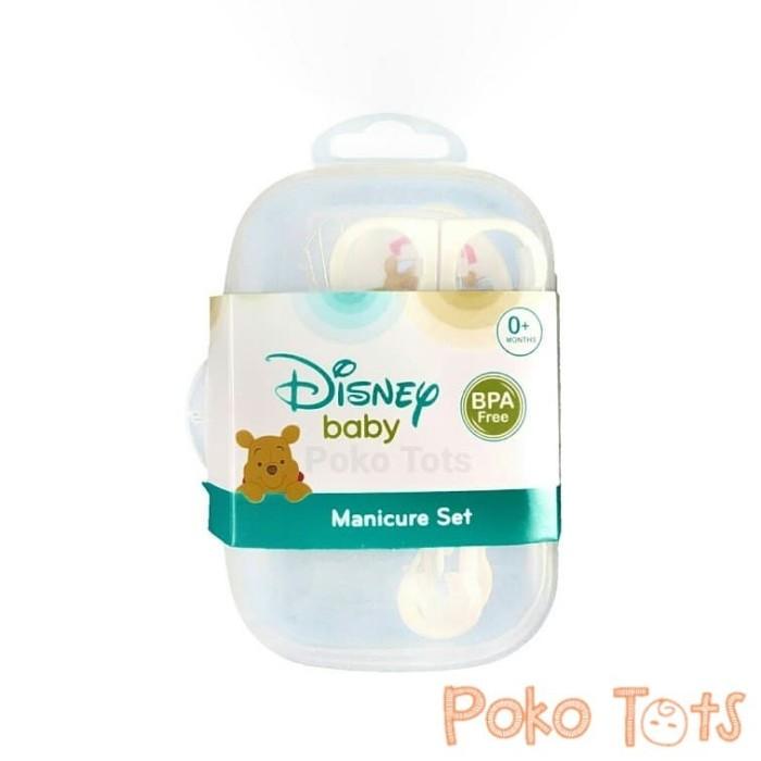 Disney manicure set winnie the pooh isi 4 gunting kuku dan sisir bayi