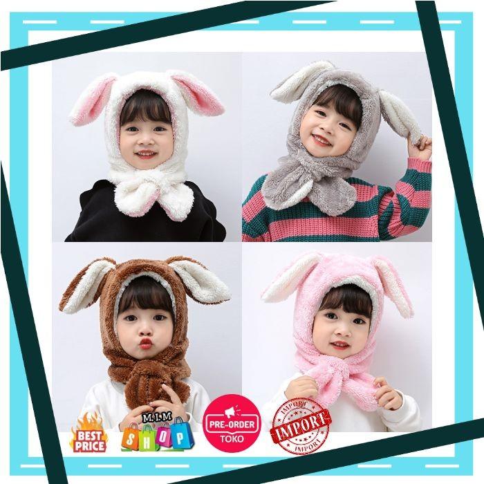 Lembut Bayi Lucu Topi Musim Dingin Hangat Bulu Anak Perempuan Topi