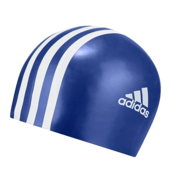 6a99bb3e Jual silicone swim cap adidas youth original topi renang swimming 3 ...