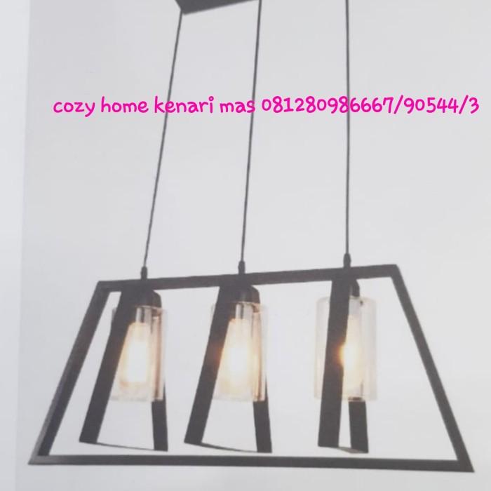 Jual Lampu Gantung Minimalis Lampu Gantung Meja Makan Industrial Dki Jakarta Cozy Home House Of Light Tokopedia