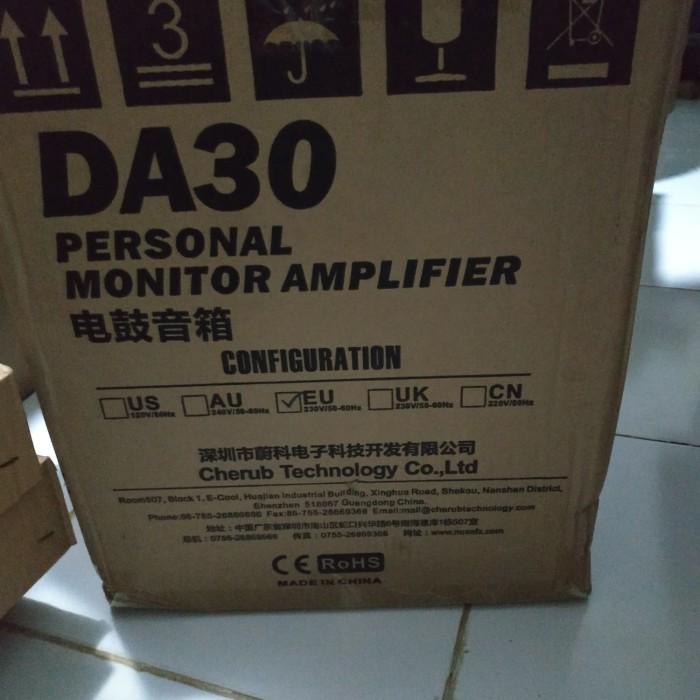 harga Nux drum.e/keyboard/piano/synthesizer ampli personal monitor (da-30) Tokopedia.com