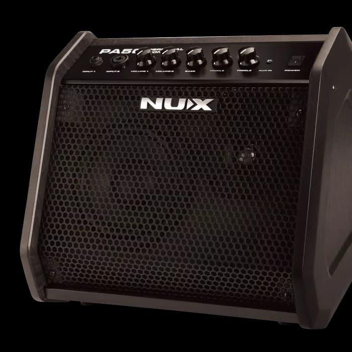 harga Nux ampli full range powered monitor (gitar elektrik) (nux pa-50) Tokopedia.com
