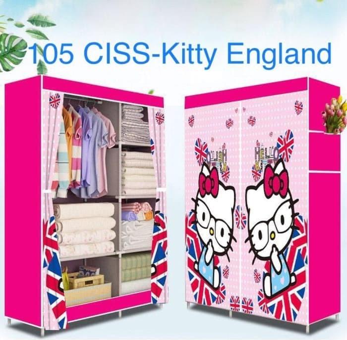 78+ Foto Desain Lemari Baju Portable Hello Kitty Terlihat Keren