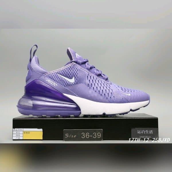 Jual Sepatu Nike Air Max 270 Purple Jakarta Utara MAFIA SNEAKERS | Tokopedia
