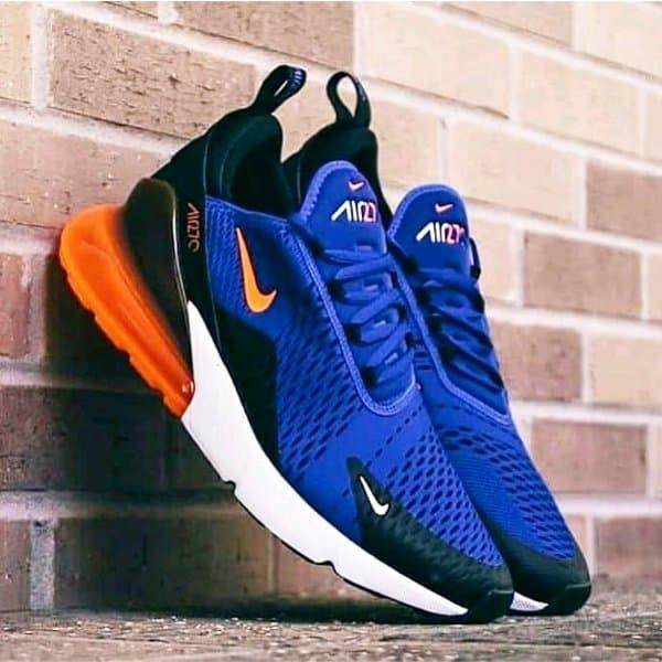 Jual Sepatu Nike Air Max 270 Blue Crimson Jakarta Utara MAFIA SNEAKERS   Tokopedia