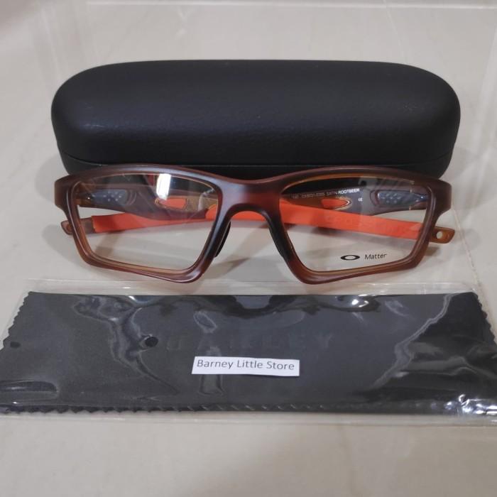 Info Harga Kacamata Frame Oakley Crosslink Sweep Original - Rootbeer ... da8158cd62