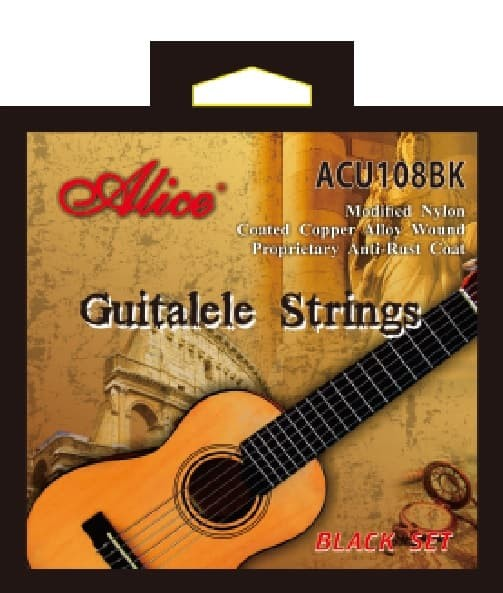 harga Alice acu108bk black nylon senar guitalele strings Tokopedia.com
