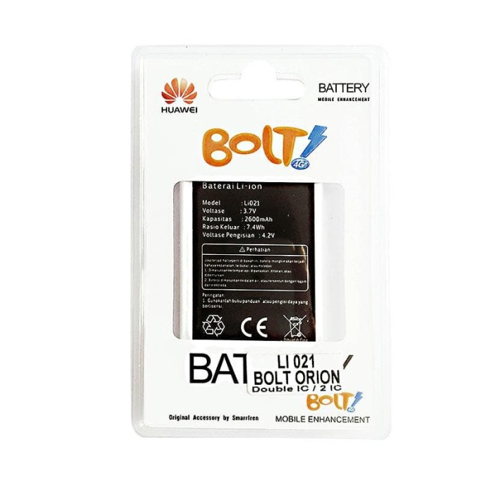 BATERE MODEM BOLT ORION LI021 WIFI ORIGINAL BATERAI BATTERY