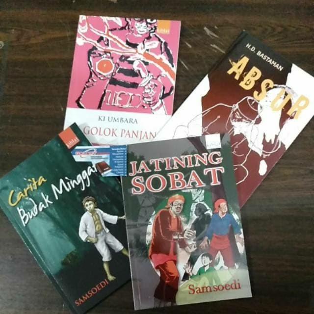 Novel Sunda / Buku Cerita Sunda Jatining Sobat Abdur Budak Minggat
