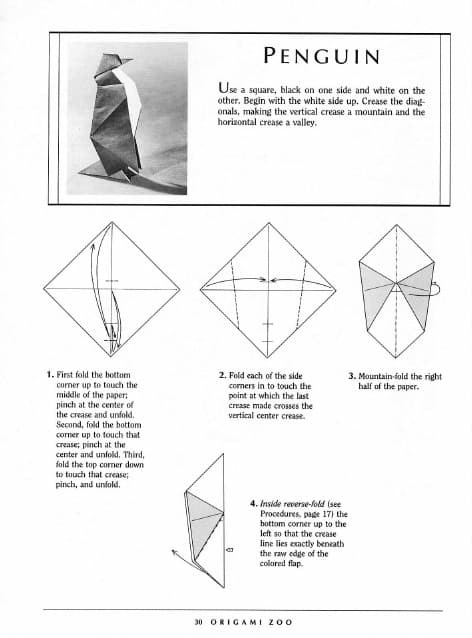 48 Gambar Binatang Dari Origami Gratis Terbaik