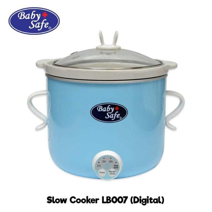 Baby Safe Slow Cooker Digital (LB007) / Alat Memasak Bubur