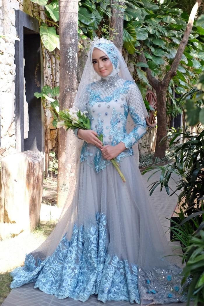 Jual Gaun Dress Baju Pengantin Muslimah Linaf 001 Kota Yogyakarta Bbride Tokopedia