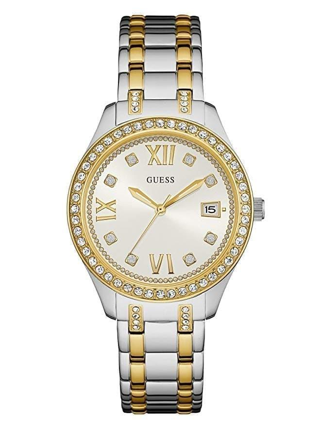 Guess Jam Tangan Wanita Strap Silver Gold W0848l4 - Daftar Harga ... fc4ba41d2d