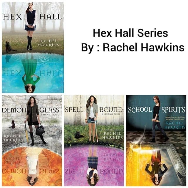 Hex Hall Series Ebook