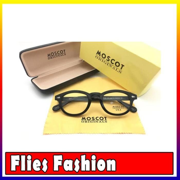 Frame Kacamata Minus Moscot Lemtosh Size M USA Pria Wanita Hitam Kilap f338ed715a