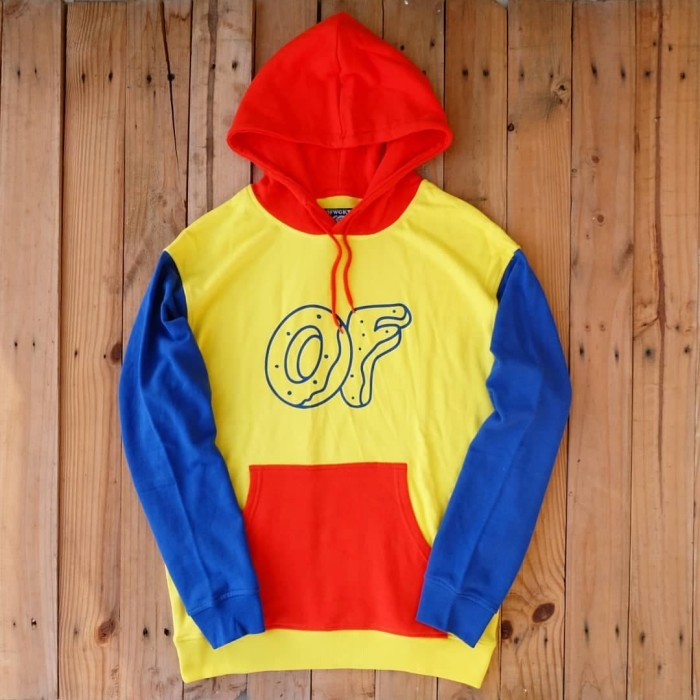 8741b531cbc468 Jual ODD FUTURE   GOLF WANG OFWGKTA PRIMARY COLORBLOCK HOODIE ...