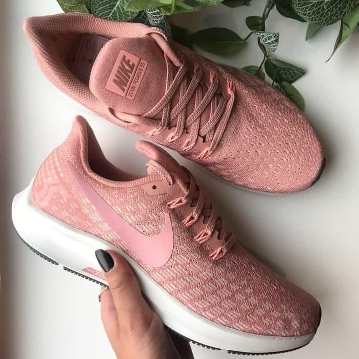 58da25d68d6e0 Jual Nike Air Zoom Pegasus 35 Rust Pink Wanita Premium Original ...