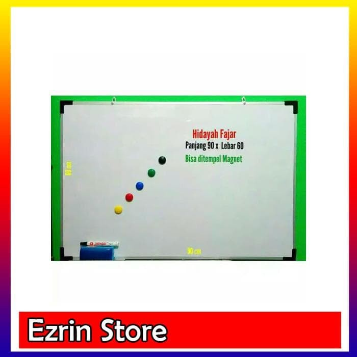 papan tulis / white board magnet