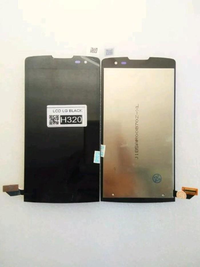 Jual LCD LG H324 TOUCHSREEN HITAM ORI LEON Y50 * H320/H324T/H340N/H326 -  Kab  Bekasi - techno phone cikarang | Tokopedia