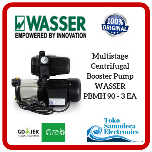 Mesin Pompa Air Multistage Centrifugal Booster Pump Wasser PBMH 90 3EA