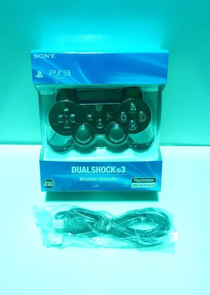 Stik Stick PS3 Wireless Original Pabrik + Kabel charger PS 3 Ori Murah
