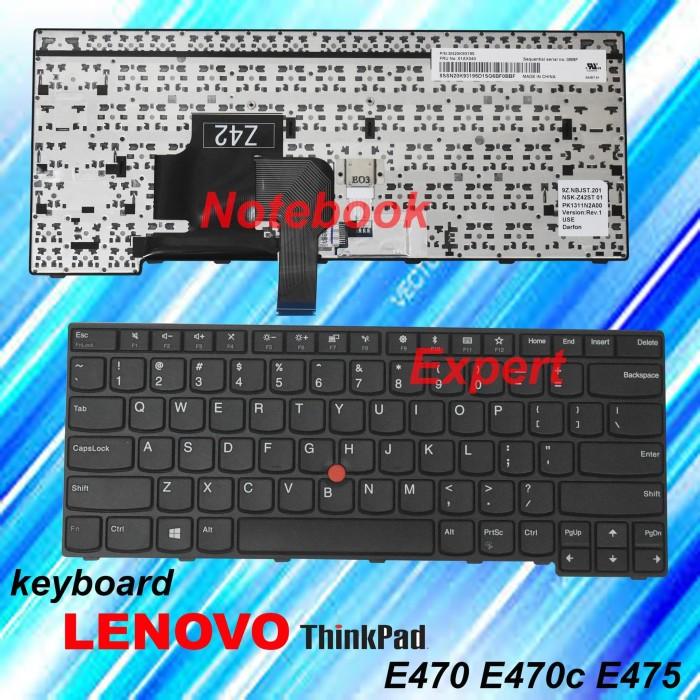 Jual Keyboard Laptop Lenovo Thinkpad E470 E470c E475 Jakarta Pusat Notebookexpert Tokopedia