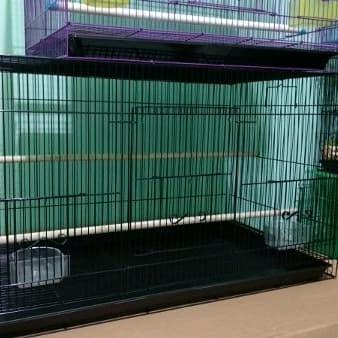 harga Kandang hewan besi burung kucing kelinci / sangkar pok lovebird uk 80 Tokopedia.com
