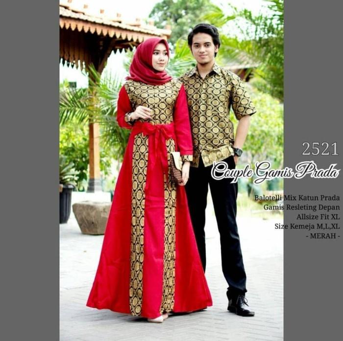 Jual Baju Batik Couple Gamis Kondangan Batik Pesta Remaja Kekinian