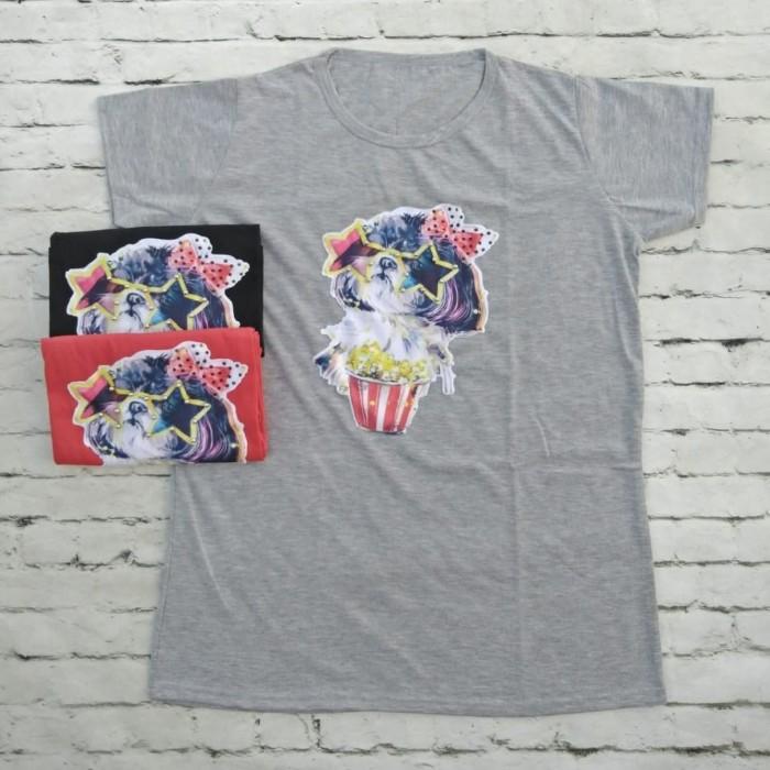 harga Kaos jumbo doggy manik xxxl oreenjy cupcake kaos wanita Tokopedia.com