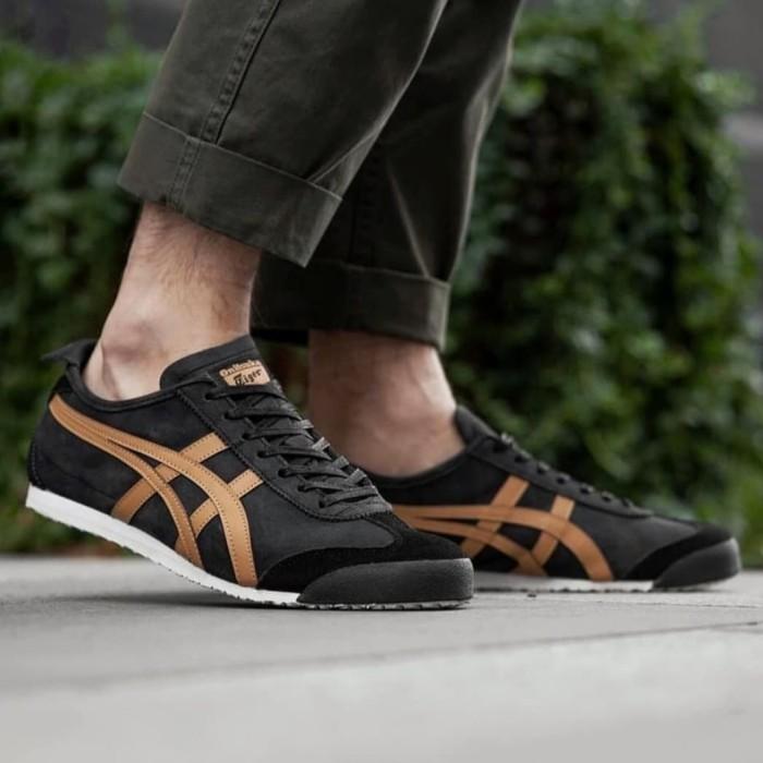 buy popular 6d094 effa8 Jual onitsuka tiger mexico 66 black brown - DKI Jakarta - samudera_sneakers  | Tokopedia