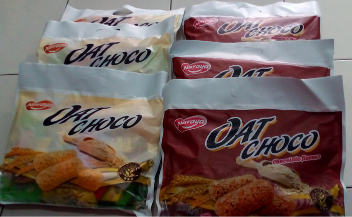 harga Naraya oat choco pandan 400gr (isi 40 pcs) Tokopedia.com