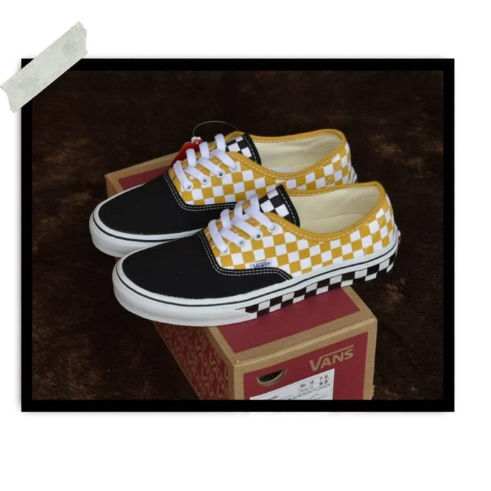 Jual Sepatu Vans Authentic Checkerboard