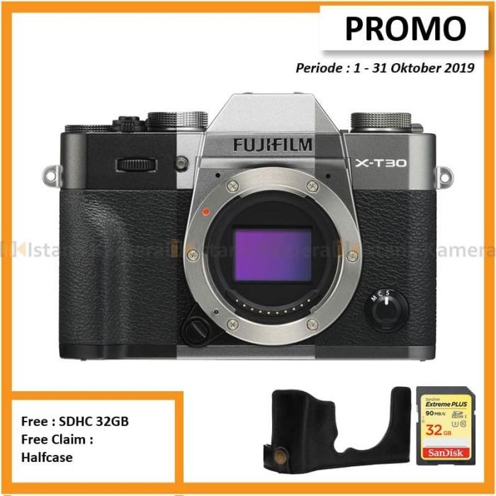 harga Fujifilm x-t30 body only mirrorless kamera - charcoal Tokopedia.com