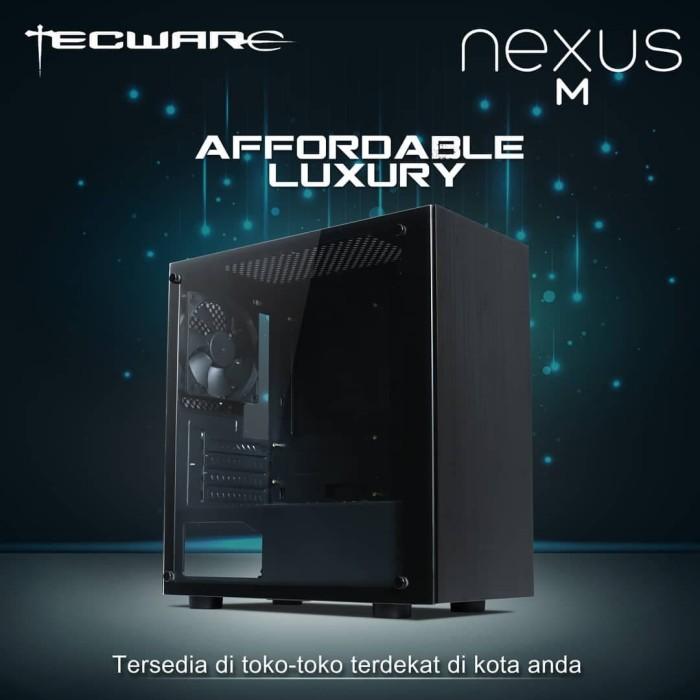 Foto Produk TECWARE NEXUS M BLACK [3FAN] dari silicon ONE Computer