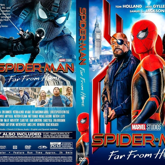 Jual Film Dvd Spider Man Far From Home 2019 Movie Collection Film Koleksi Jakarta Barat M Collector Tokopedia