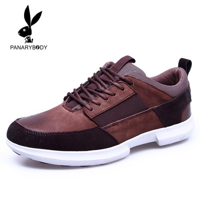 PANARYBODY Sepatu Kasual Pria Kulit asli Trendy Original