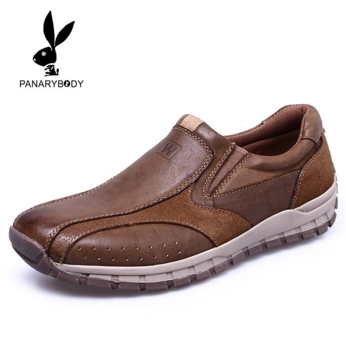 Sepatu Casual Pria Kulit Asli cocok buat Kerja Kantoran atau hangout