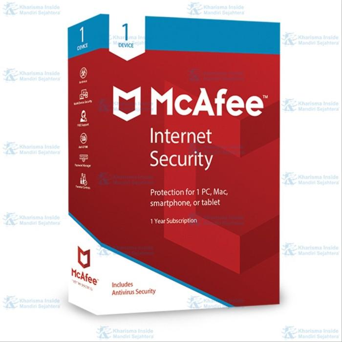 Jual Mcafee Internet Security Software Antivirus 1 Device Sw3 Jakarta Barat Shilvina Store Tokopedia