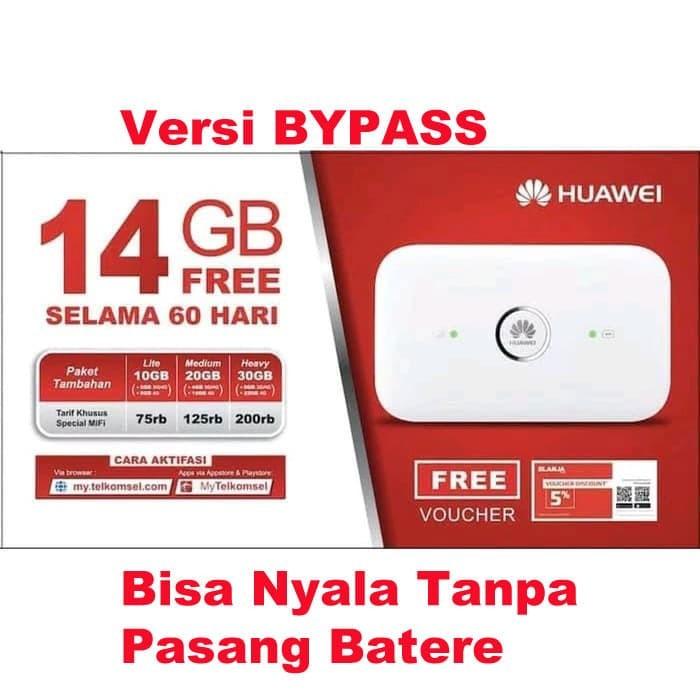 harga Mifi router modem wifi 4g huawei e5573 bypass free tsel 14gb Tokopedia.com