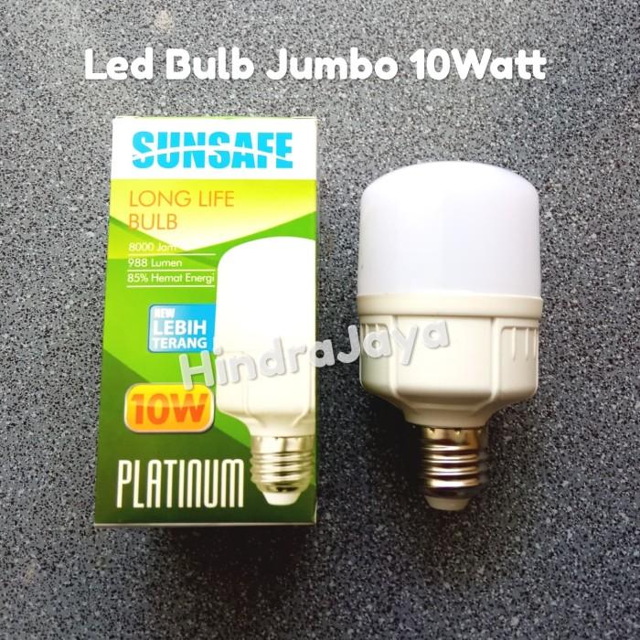 Foto Produk Lampu Led Jumbo / Led Kapsul Sunsafe 10W / 10 Watt dari Hindrajaya