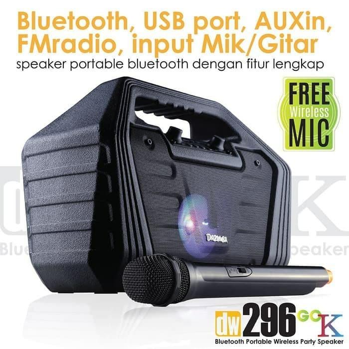 Foto Produk Speaker Meeting PA Mic Wireless 1 Mic Dazumba DW296 - SPEAKER dari DRoyal Shop Pusat