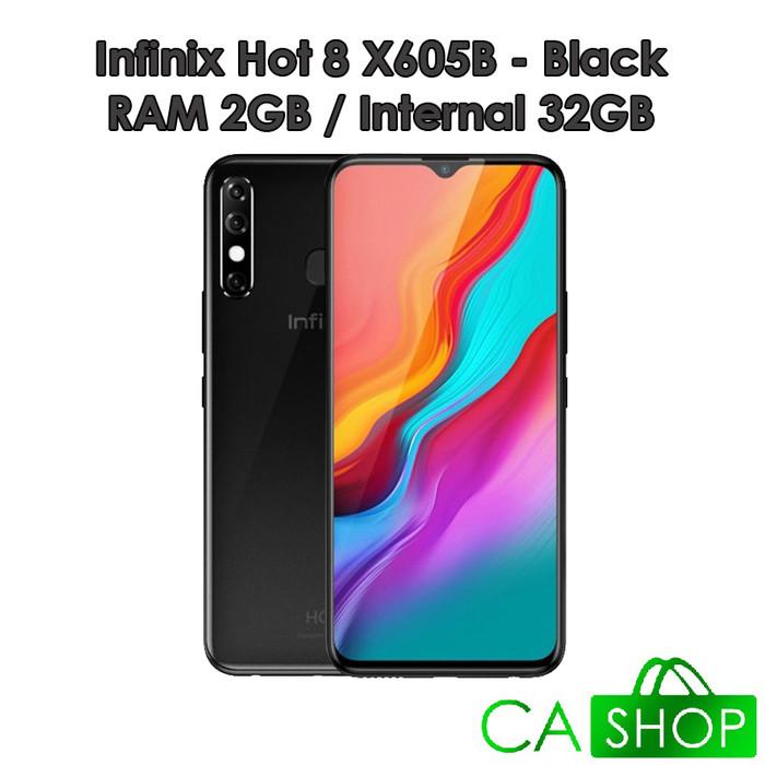 harga Infinix hot 8 x605b - (2/32) - new baru original garansi resmi - black Tokopedia.com